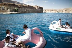Silk Road Festival: The Band-e Amir (lake)