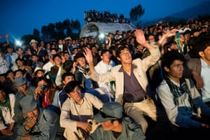 Silk Road Festival: An early evening concert in Bamiyan (city) during the 5th Silk Road Festiva