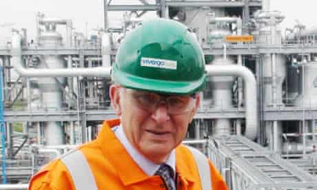 Business secretary Vince Cable opening the Vivergo biofuels plant