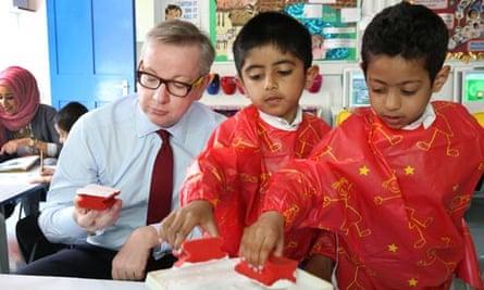Michael Gove school visit