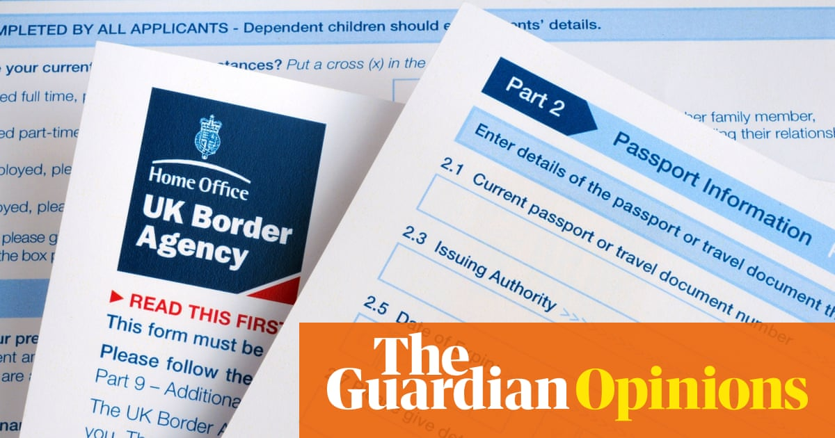 How new UK spouse visa rules turned me into an Englishman in exile |  Richard Fabb | Opinion | The Guardian
