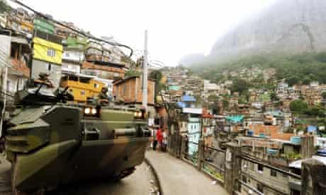 Marines in Favela