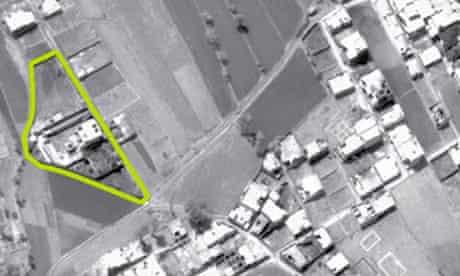 Bin Laden compound in Abbottabad