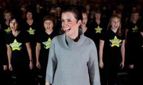 Caroline Redman Lusher, founder / director of Rock Choir