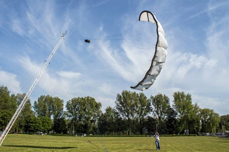 Flying a kite for aerial wind power | Lou Del Bello | Science | The