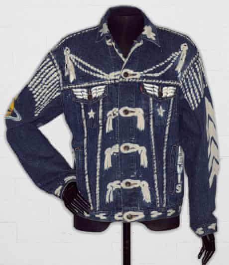 'Blitz' denim jacket by Vivienne Westwood