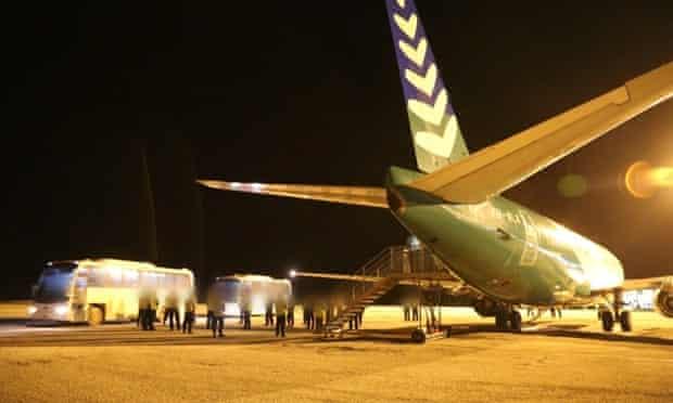 First arrivals under PNG solution