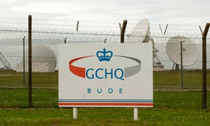 GCHQ's site in Bude, Cornwall