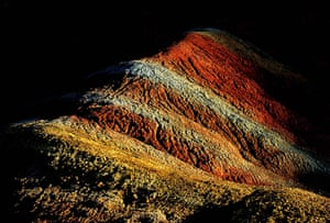 """Rainbow mountains: Danxia, which means """"rosy cloud"""", is a special landform formed from reddish"""