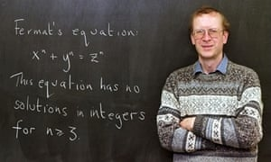 Andrew Wiles, the mathematician who solved Fermat's Last Theorem