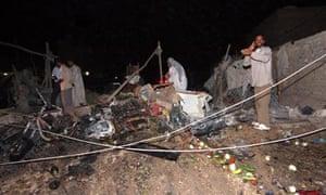 Iraq car bomb aftermath