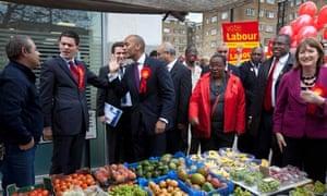 David Miliband and Chukka Umunna launch the BAME (black, asian and minority ethnic) manifesto