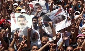 Mohamed Morsi protest camps face closure by Egypt security forces