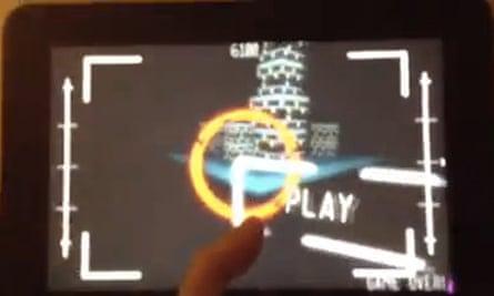 Google Glass Psyclops game