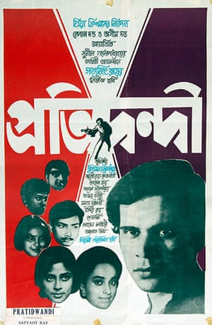 Satyajit Ray's film posters – in pictures | Film | The Guardian