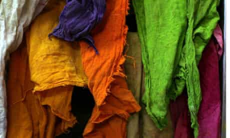 Dyed textiles