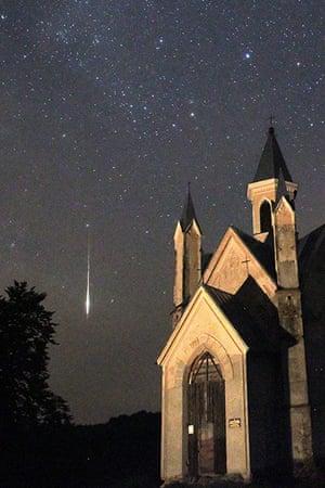 Perseids meteors: Bogushevichi, Belarus