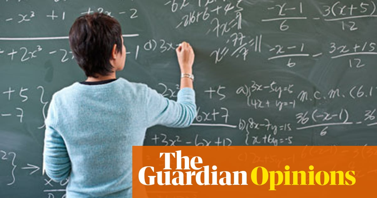 Why being a maths teacher is not adding up for new recruits