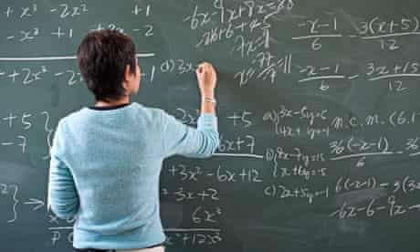 Why being a maths teacher is not adding up for new recruits | Teaching |  The Guardian