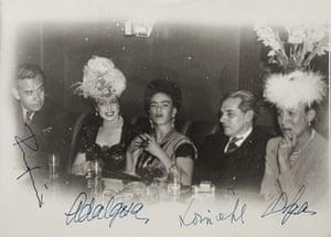 Frida Kahlo Snaps: Group shot