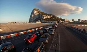 Gibraltar-Spain border, 9/8/13
