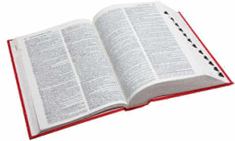 An open dictionary