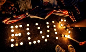 Candlelight vigil for Elvis
