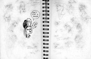 Kate Beaton Sketchbook: Illustrators sketchbooks