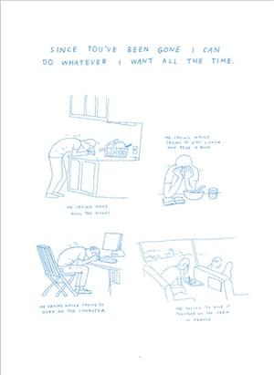 Anders Nilsen Sketchbooks: Illustrators sketchbooks