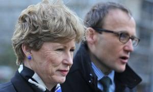 Greens parliamentarians Christine Milne (left) and Adam Bandt.