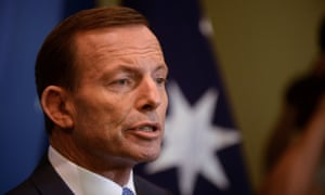 Opposition Leader Tony Abbott during a press conference in Brisbane, Wednesday, Aug. 14, 2013.