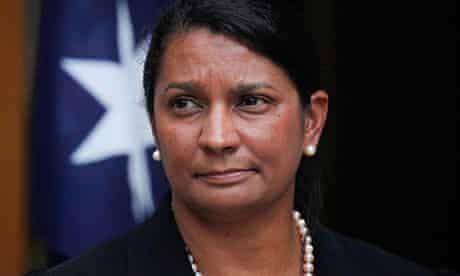 Nova Peris is opposed to the nuclear waste dump.