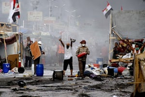 Egyptian camps: Supporters of ousted president Morsi and members of the Muslim Brotherhood