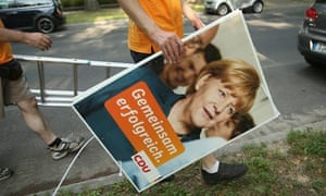Political Parties Launch Election Campaigns In Berlin