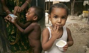 Grameen-Danone Yoghurt Factory, Bogra, Bangladesh - Jun 2007
