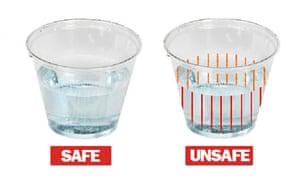 DrinkSavvy plastic cup