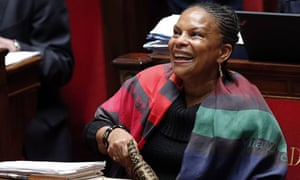 French justice minister Christiane Taubira
