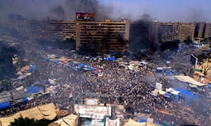 The latest massacre in Cairo looks like it will easily outstrip the death toll the two protests that