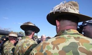 Rudd army barracks
