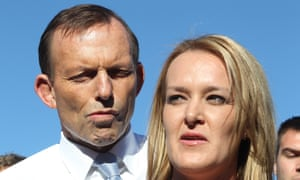 Tony Abbott with the Liberal candidate for Lindsay, Fiona Scott.