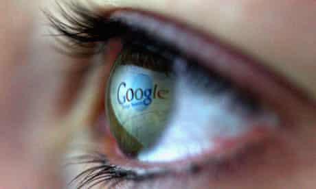 Google in eye