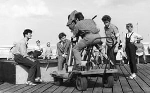Polanski: Shooting Two Men and a Wardrobe at a coastal location, 1958