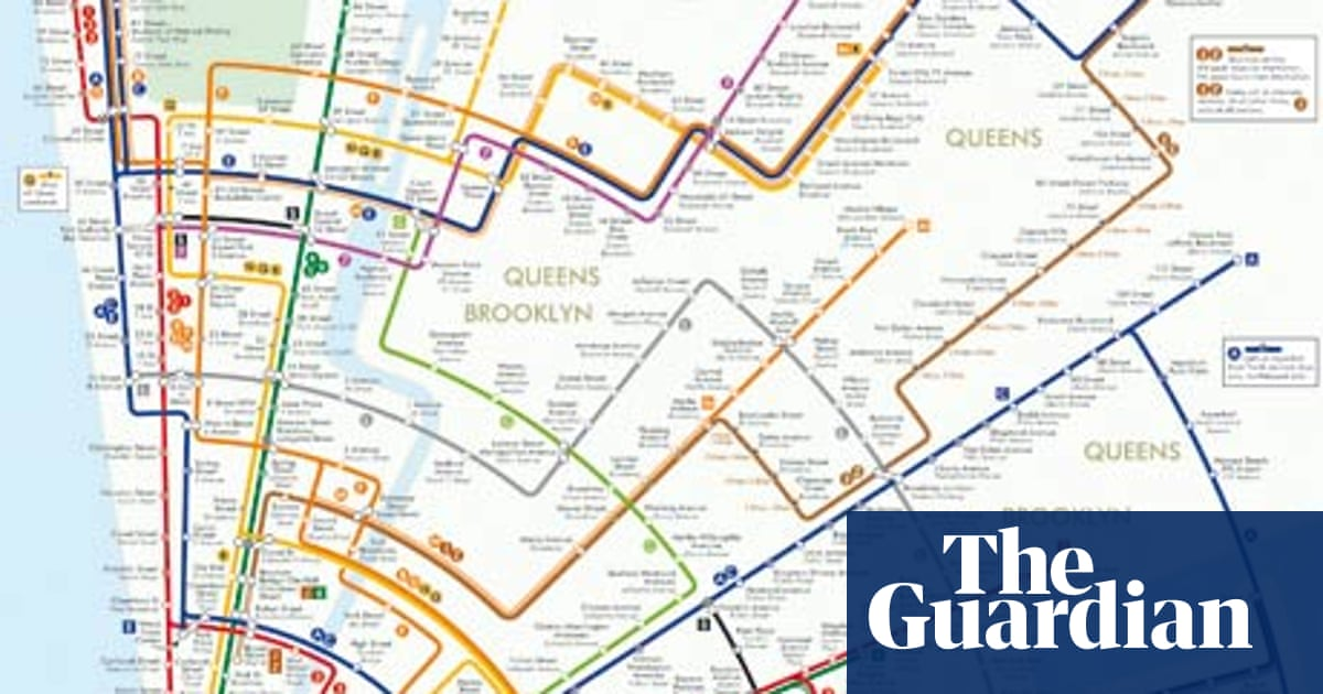 Do I Need A Subway Map For Nyc.Going Round In Circles The New York Subway Map Redesigned News