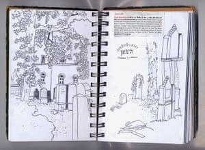 Rutu Modan Sketchbooks: Illustrators sketchbooks