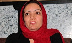 Fariba Ahmadi Kakar, Afghan MP who has been kidnapped