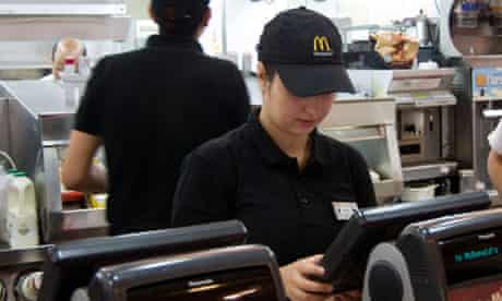 McDonald's worker England UK