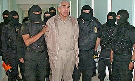 Rafael Caro Quintero at Puente Grande prison in Guadalajara, Mexico
