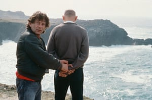 Roman Polanski and Ben Kingsley