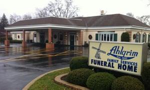Mini golf funeral home