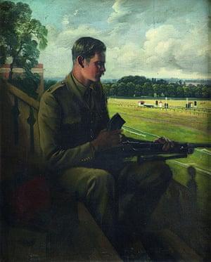 Rex Whistler: Lieutenant Jock Lewes, co-founder of the SAS by Rex Whistler